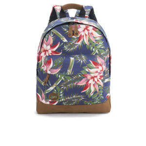 Mi-Pac Premium Palm Floral Backpack - Navy