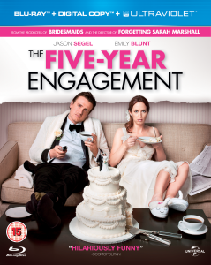 The Five-Year Engagement (Bevat Digital en UltraViolet Copies)
