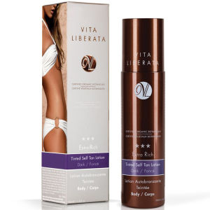 Vita Liberata Extra Rich Tinted Tan Lotion - Dark - 200ml