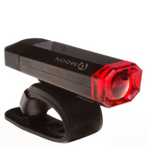 Moon GEM 1.0 USB Rear Light  Black
