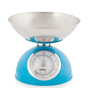 Cook In Colour 5kg Dome Kitchen Scales - Blue