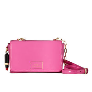 Lulu Guinness Verity Patent Leather Medium Cross Body Bag - Magenta