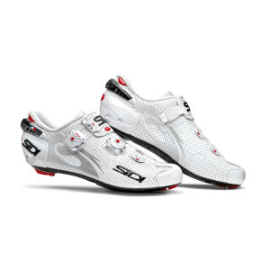 Sidi Wire Carbon Air Vernice Cycling Shoes - White