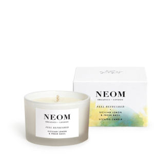 NEOM Organics Feel Refreshed Travel Bougie parfumée