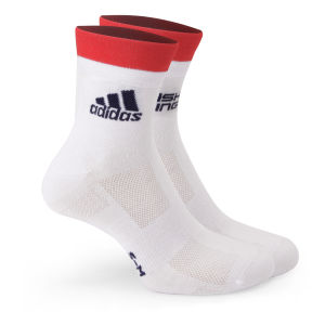 adidas British Cycling Team Race Socks 2015 - White