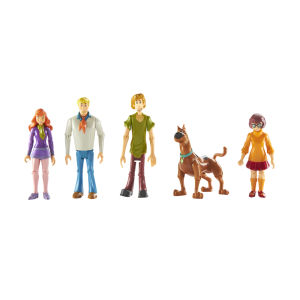 Scoboy Doo 5 Inch Mystery Crew 5 Figure Pack