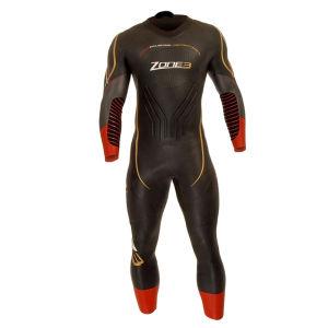 Zone3 Men's Vanquish Wetsuit - Black/Red/Gold
