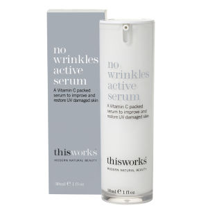 this works No Wrinkles Active Serum (Anti-Falten Pflege) 30ml