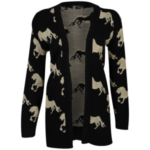Influence Women's Horse Knitted Cardigan