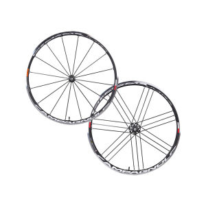Campagnolo Shamal Ultra Two Way Clincher Wheelset - Black