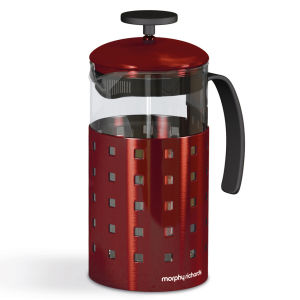 Morphy Richards Accents 8 Cup Cafetiere - Red