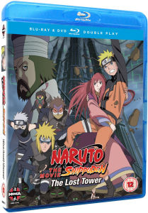 Naruto Shippuden Movie 4: The Lost Tower - Double Play (Includes DVD)