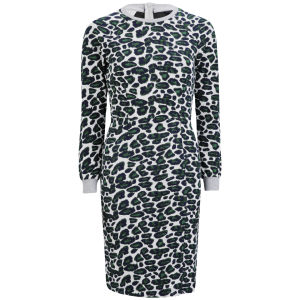 Baum und Pferdgarten Womens Ethena Dress - Grey Leopard
