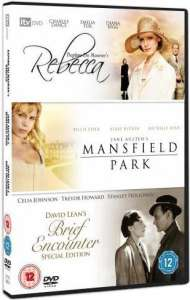 Rebecca/Brief Encounter/Mansfield Park