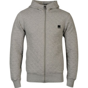 Bench Men's Ormskirk Hooded Sweatshirt - Grey Marl