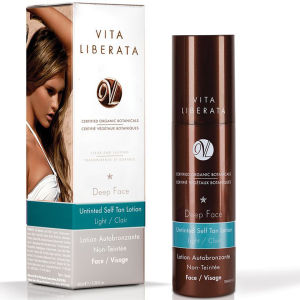Vita Liberata Deep Face Untinted Tan Lotion - Light -  100ml