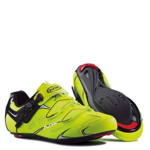 Northwave Sonic SRS Cycling Shoes - Yellow Fluo/Black