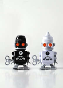 Salt and Pepper Shaker Bots