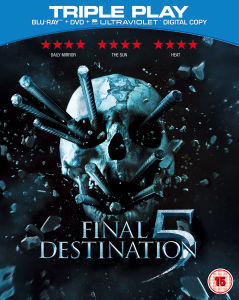 Final Destination 5 - Triple Play (Blu-Ray, DVD en Digital Copy)