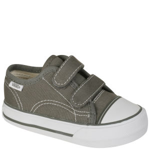 Vans Toddler Big School Trainer - Pewter