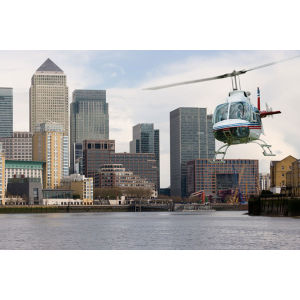 Helicopter Flight Over London for Two