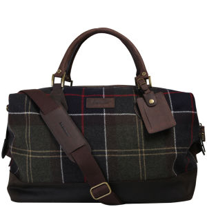 Barbour Men's Lochy Explorer Holdall Bag - Classic Tartan