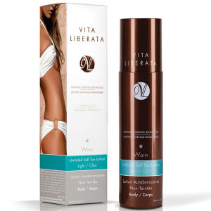 Vita Liberata Warm Gradual Build Untinted Tan Lotion - Light - 200ml