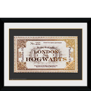 Harry Potter Ticket - 30x40 Collector Prints