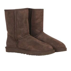 UGG Australia Women's Classic Short Boots - Chocolate