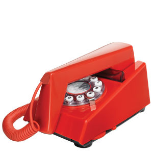 Trim Telephone - Red