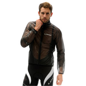 Look Men's Light Rain Jacket - Translucent Black