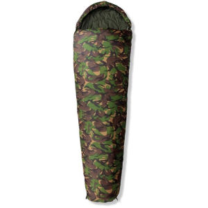 Gelert Tryfan Classic Camouflage 300dDL Sleeping Bag - Zip Left