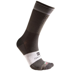 Sportful Thermolite Short Socks - Black/Grey