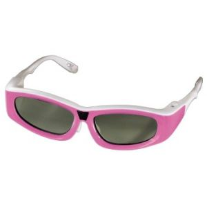 Hama 3D Shutter Glasses for Samsung 3D Televisions for Children - Pink - Grade A Refurb