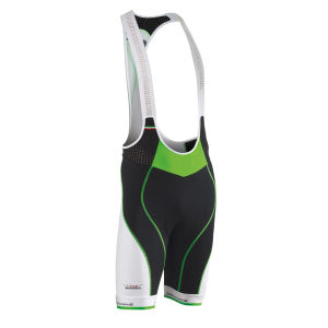 Northwave Galaxy Bib Shorts - Black/Green Fluo