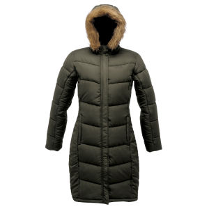 Regatta Women's Blissfull Long Parka Jacket - Grape Leaf