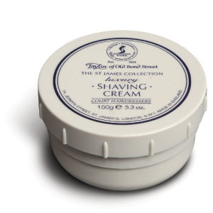 Taylor of Old Bond Street Shaving Cream Bowl (150g) - St James