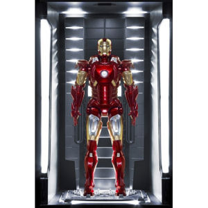 Dragon Action Heroes Marvel Iron Man Mark VII Hall of Armour 1:9 Scale Figure