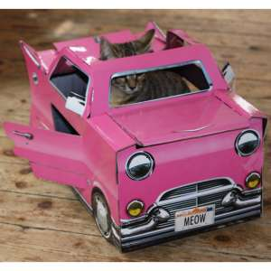 Cat Play Houses - Pink Cadillac