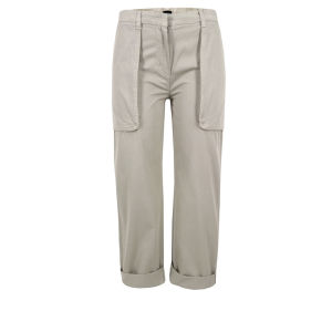 Joseph Women's Montana Cropped Trousers - Stone