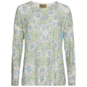 Wildfox Women's Neo Daisy Ringo Sweater - Mint Julep