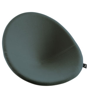 Flux Chair Cushion - Anthracite Grey