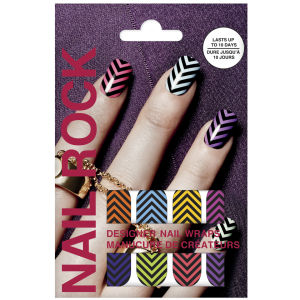 Rock Beauty Nail Rock - Chevrons