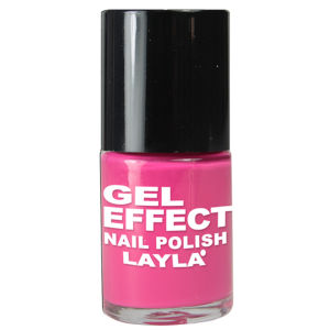 Layla Cosmetics Gel Effect Nail Polish N.03 Barbie Pink (10ml)