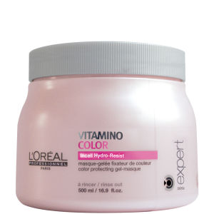 Mascarilla-gel fijación de color L'Oréal Professionnel Série Expert Vitamino Color (500ml)