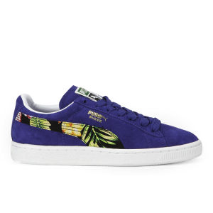 Puma Women's Suede Tropicalia SMU Trainers - Purple