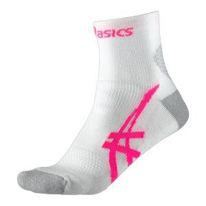 Asics Women's Kayano Running Socks - Real White/Magenta