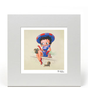 Betty Boop Squirrels 8x8 Limited Edition Print
