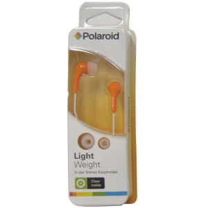 Polaroid Earphones - Orange (PEP14ORG)