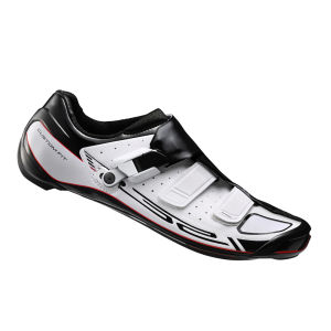 Shimano R321 Carbon Road Cycling Shoes - White
